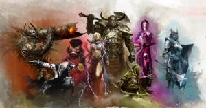 Guild Wars 2 Helden